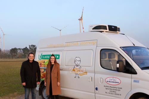 Elektrofahrzeug, nachhaltige Logistik